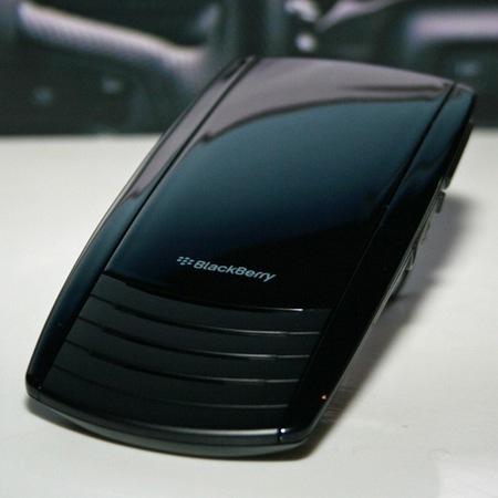BlackBerry Bluetooth Visor, manos libres para coche de la mano de RIM