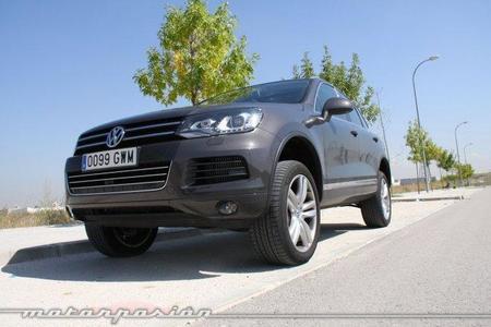 Volkswagen Touareg 4.2 TDI, prueba (conducción y dinámica)