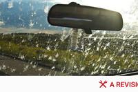Cómo limpiar los mosquitos del parabrisas del coche