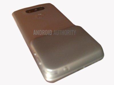 El supuesto módulo mágico extraíble del LG G5 aparece en imágenes a poco de su presentación