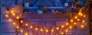 Nueve guirnaldas de luces decorativas: especial Halloween