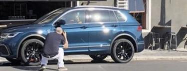 ¡Espiado! El Volkswagen Tiguan 2021 heredará el frente del nuevo Golf