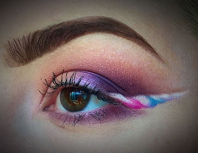 eyeliner unicornio belleza beauty tendencia