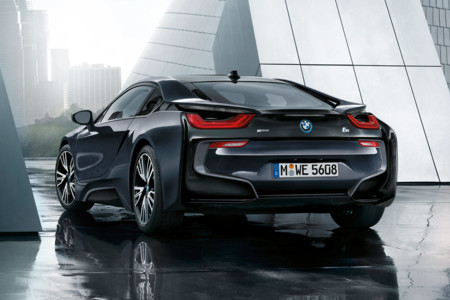 Bmw I8 Protonic Dark Silver Edition Trasera