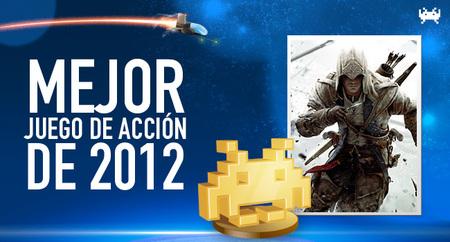 Mejor juego de acción de 2012 según los lectores de VidaExtra: 'Assassin's Creed III'