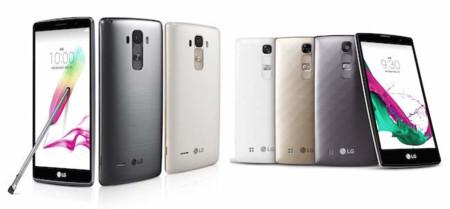 LG G4 Stylus y LG G4c, los acompañantes del nuevo buque insignia de la surcoreana