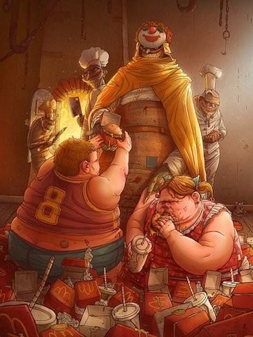 Datos sobre la obesidad y el sobrepeso en el mundo