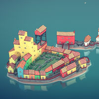 Townscaper, ese cautivador juego sobre diseñar pueblecitos, por fin está disponible en Steam como acceso anticipado