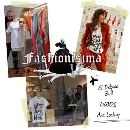 Nuevas camisetas de Fashionisima por Ana Locking, Duyos y El Delgado Buil