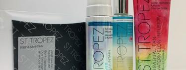 Los nuevos productos de St. Tropez sin olor a autobronceador y a prueba de errores son ideales para perder el miedo al autobronceador