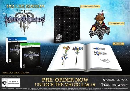 Kingdom Hearts 3 Edicion Deluxe