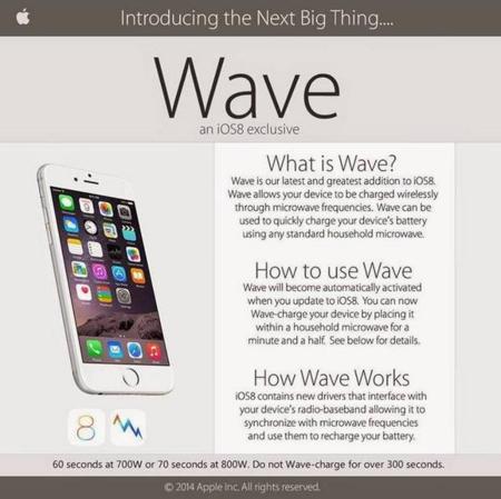 Cazadores de fakes: no, la gente no está metiendo sus teléfonos en el microondas por iOS Wave