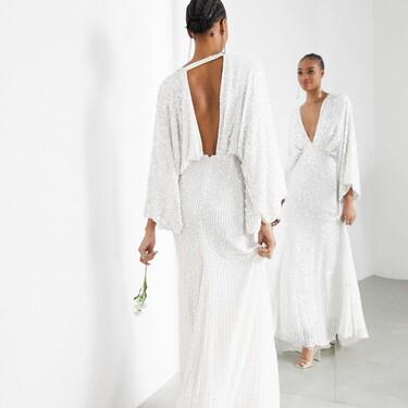 Podemos caminar hacia el altar con estilo y poco presupuesto gracias a la colección de novias de Asos Edition