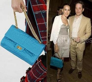 Sarah Jessica Parker y su Coco's Croco bag de Chanel