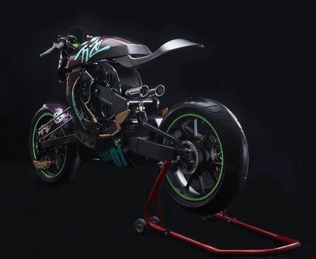 Motocicleta Revolver, la revolución del aire comprimido