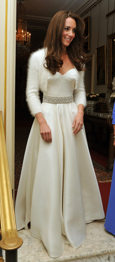 Segundo Vestido Kate Middleton
