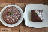 Esponjosos bizcochos caseros de chocolate. Receta para la merienda