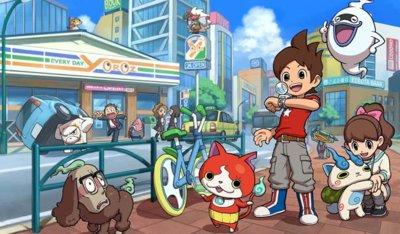 Level 5 nos sigue emocionando con la llegada de YO-KAI WATCH para 3DS