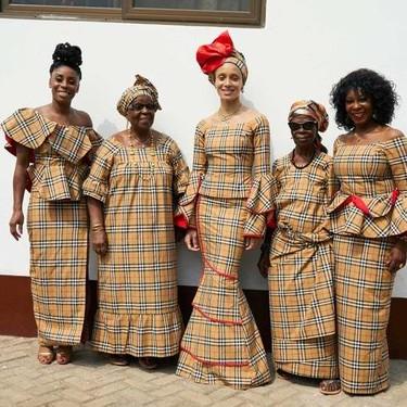 Burberry Otoño/Invierno 2018: una lección de inspiración cultural de manos de Adwoa Aboah