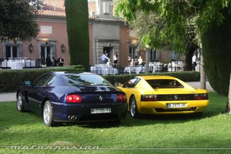 Ferrari 456 GT y Ferrari Testarossa
