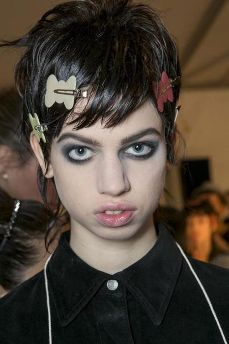 Modelos Belleza Atipica Feas Raras Lily McMenamy