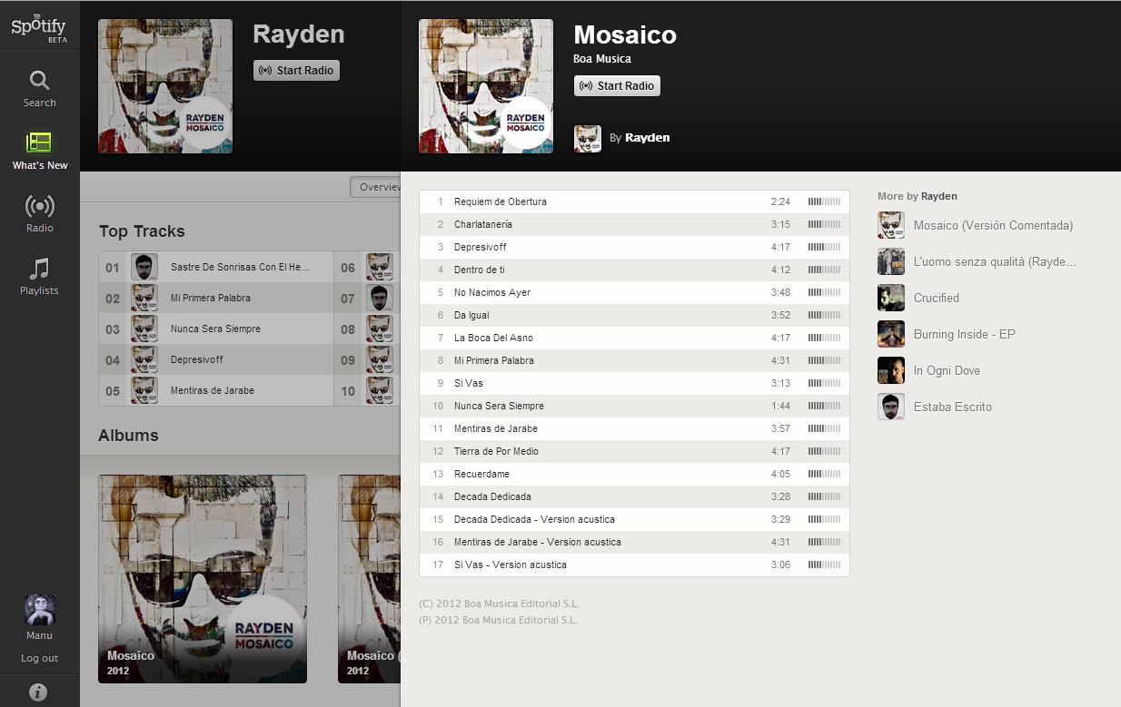 Foto de Spotify Web Player (1/8)