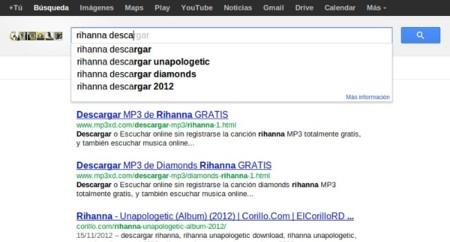 La RIAA afirma que Google no está penalizando a los sitios web de descargas