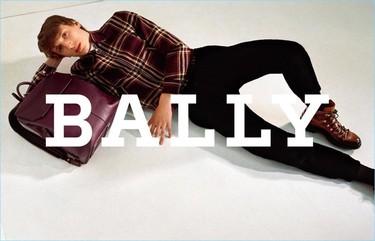 A cuadros con la campaña de Bally para el otoño-invierno 2017/2018