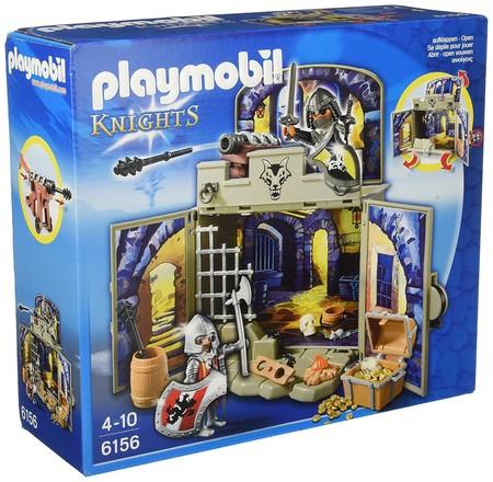 Cofre caballeros del tesoro, de Playmobil Knights, por sólo 15 euros