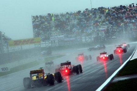 Primeras vueltas GP de Corea 2010