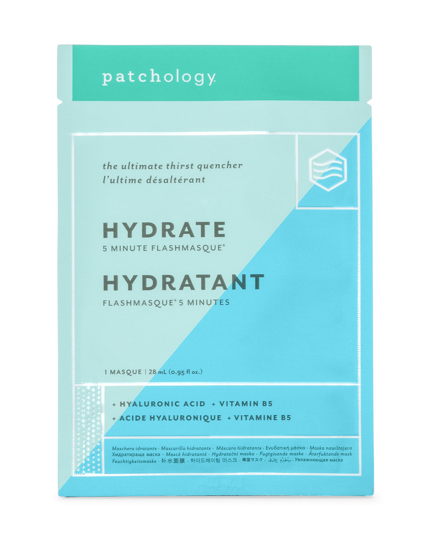 Mascarilla flash hidratante de Patchology