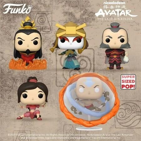 Nuevas figuras Funko Pop de Avatar en Amazon México