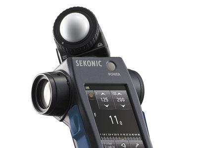 Sekonic Speedmaster L-858D, nuevo fotómetro multifunción para trabajar con flashes a alta velocidad