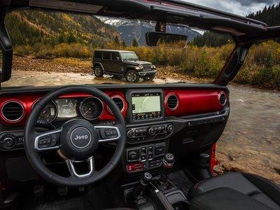 Es en el interior donde el nuevo Jeep Wrangler nos deja ver el verdadero cambio