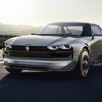 Peugeot e-Legend concept: sabor retro y la última tecnología para este prototipo eléctrico y autónomo