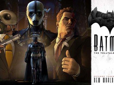 Trailer definitivo del tercer episodio de Batman: The Telltale Series