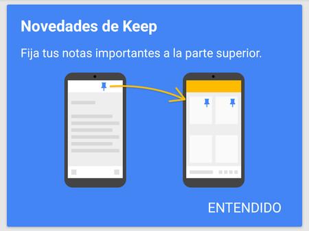 Así puedes fijar en Google Keep tus notas más importantes