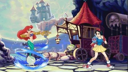 Imagen de la semana: princesas de Disney al estilo Capcom