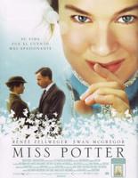 'Miss Potter', la empalagosa y sus conejitos