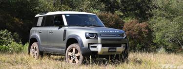 Land Rover Defender 2020, al volante de un auténtico 4x4 en su hábitat natural
