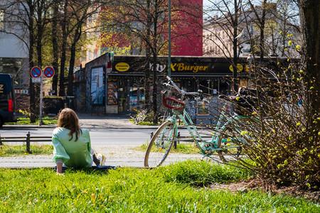 Ciclista En Berlin