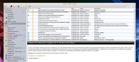 Gruml, lector de Google Reader para tu Mac