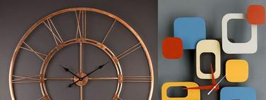Los 17 relojes de pared más sorprendentes para la casa