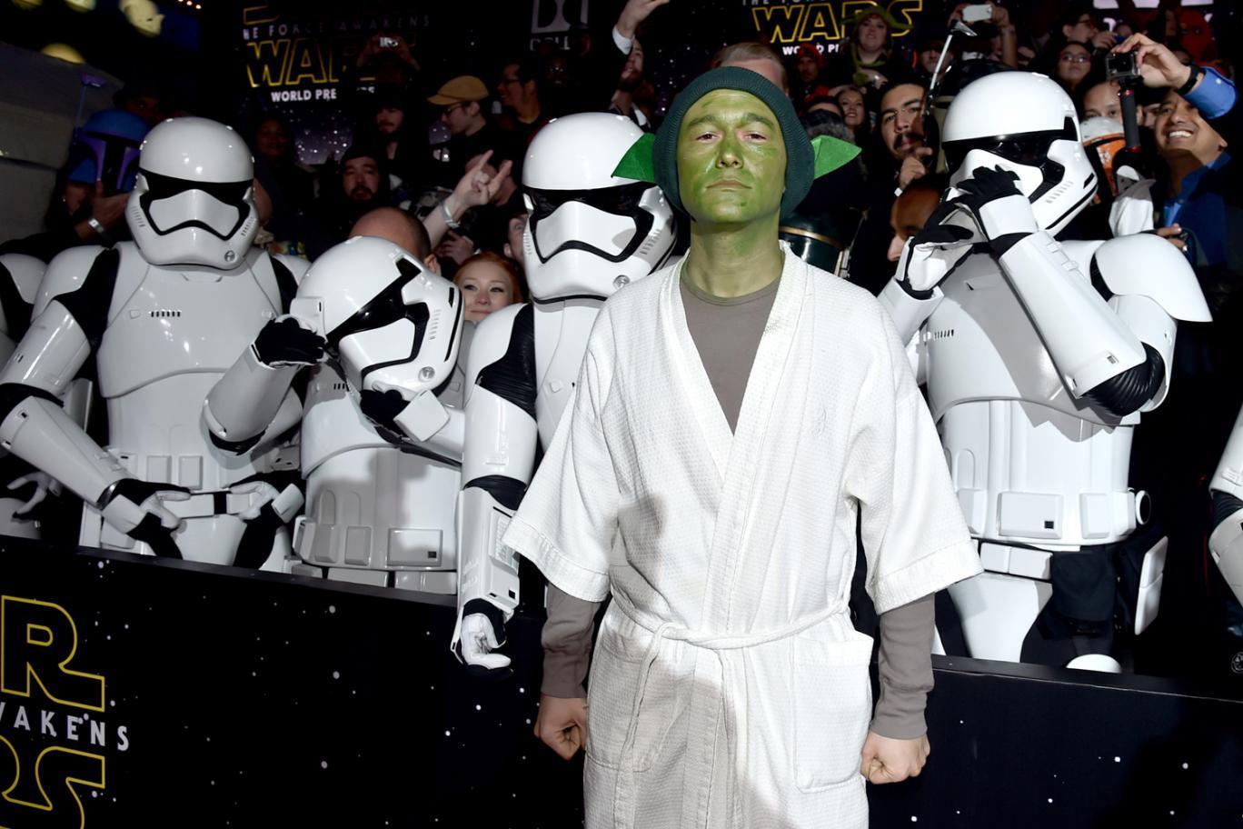 Foto de 'Star Wars: El despertar de la fuerza', fotos de la premiere mundial (25/28)
