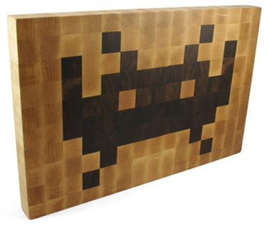 Tabla de cortar Space Invaders