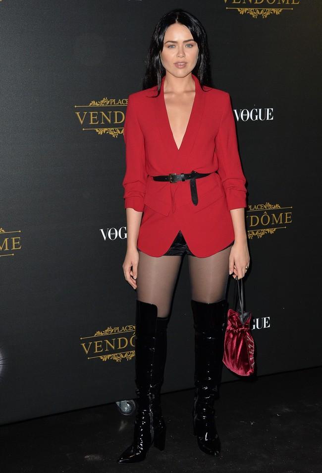 fiesta vogue paris fashion week Kristina Bazan