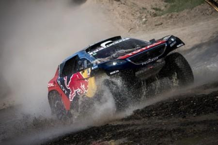 Sébastien Loeb gana su primera etapa en el Dakar