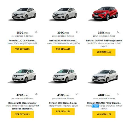 Comprar un coche online y recibirlo en casa con el programa de renting online de Renault