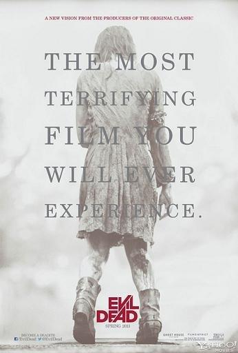 'Evil dead', cartel del remake de 'Posesión infernal'