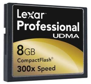 Tarjeta Lexar 133x UDMA de 8 GB